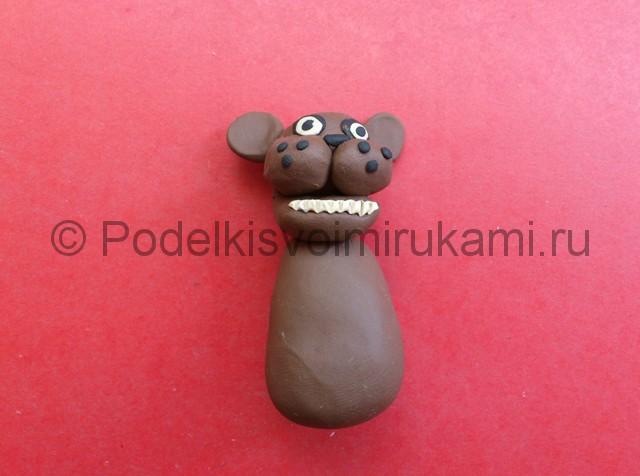 Мультики как сделать из пластилина мишку фредди
